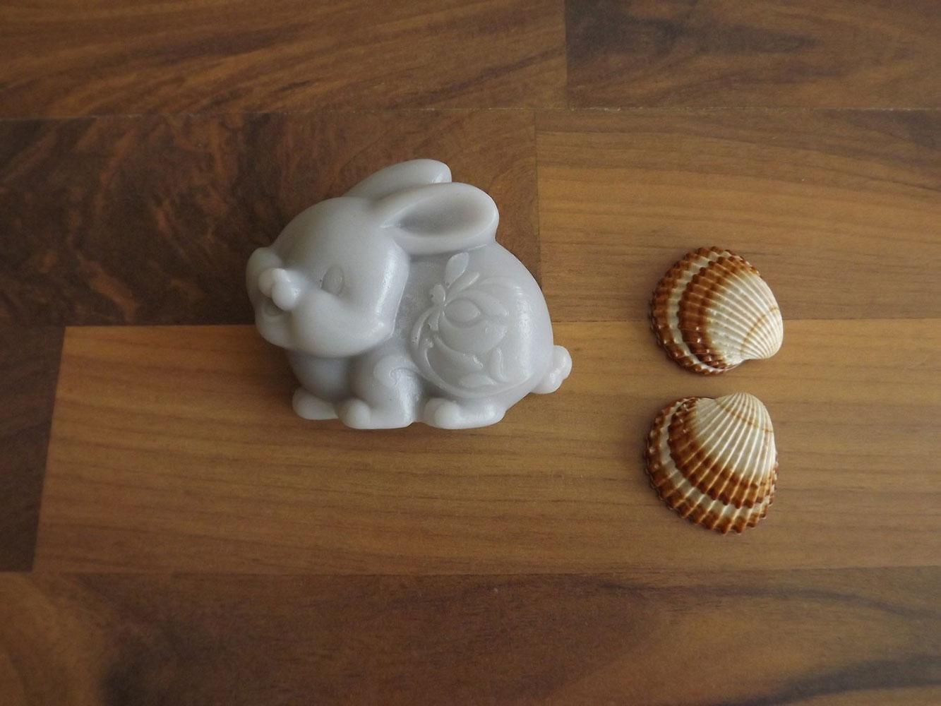 Levandulové mýdlo s kozím mlékem nebo bambuckým máslem ( zajíček ) - Levandulová relaxace, 70 g